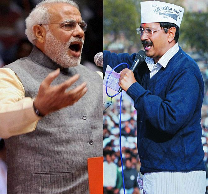 Will Kejriwal contest against Narendra Modi?