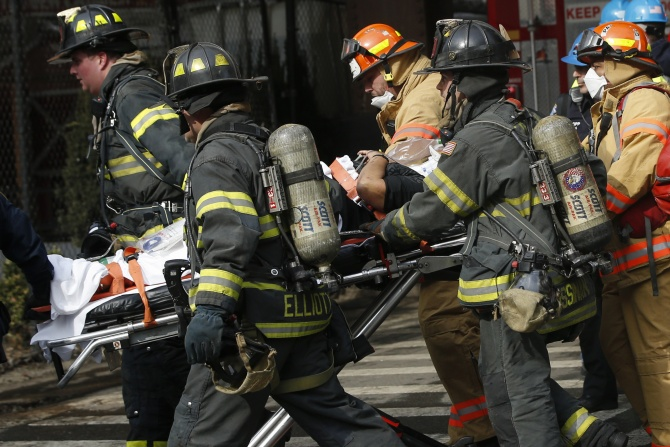 7 dead, 65 hurt as NY buildings collapse