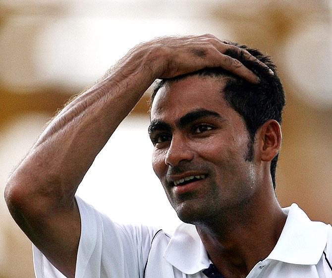 Cricketer Mohammad Kaif