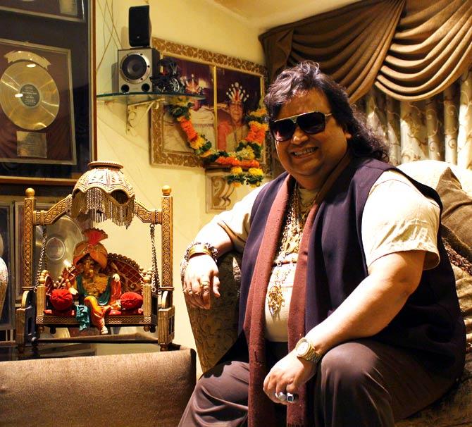 Music composer Bappi Lahiri