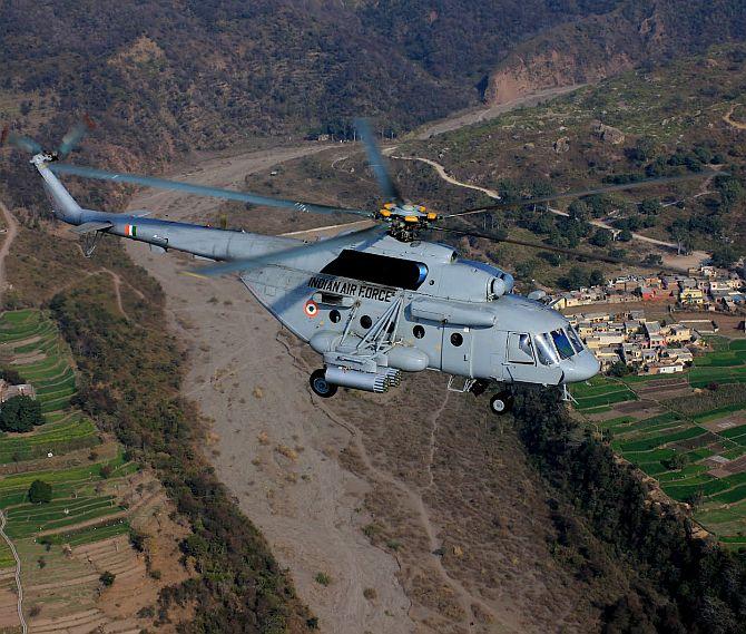 IAF's Mi-17 V5 helicopter