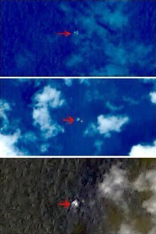 The mysterious objects spotted by Chinese satellites