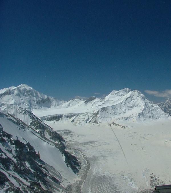 The Saltoro ridge.