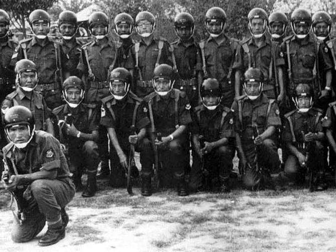 An undated photograph of the Special Frontier Force.