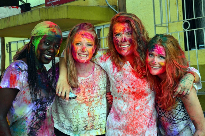 Holi Hungama: Colour me RED!
