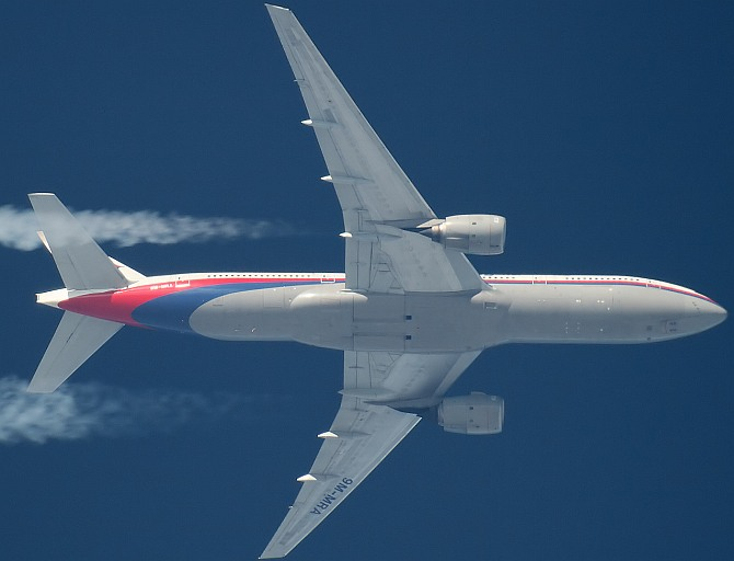 A Malaysian Airlines aircraft