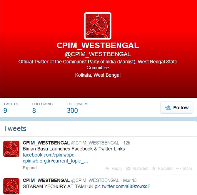 Communists in Bengal embrace social media