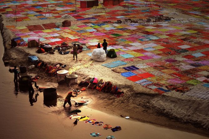 National Award, 1st place in India: 'Colourful India' by Bisheswar Chowdhury