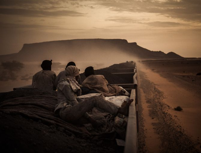 National Award, 1st place in Spain: 'Sahara Express' by Rafael Gutierrez