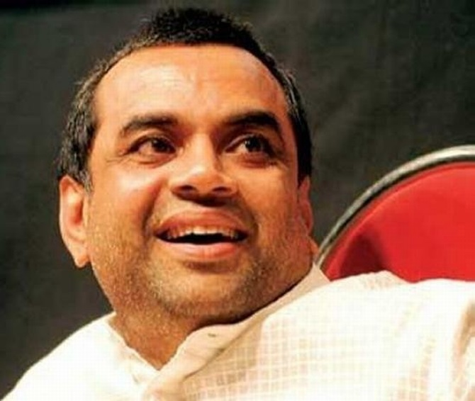 Actor Paresh Rawal will contest for the BJP from Ahmedabad, Gujarat
