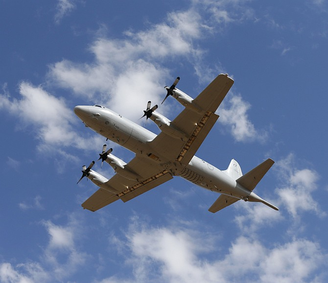 Five planes will search a vast area south-west of Perth