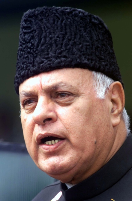 National Conference chief Farooq Abdullah