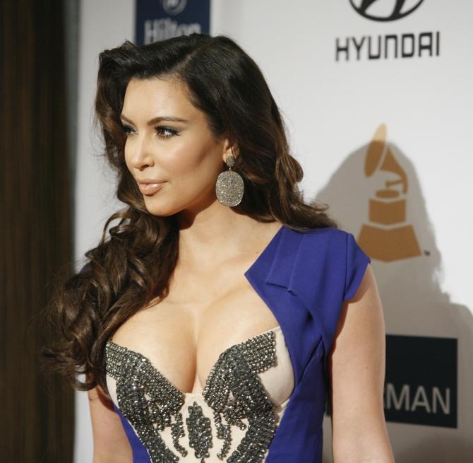 Television personality Kim Kardashian in Beverly Hills