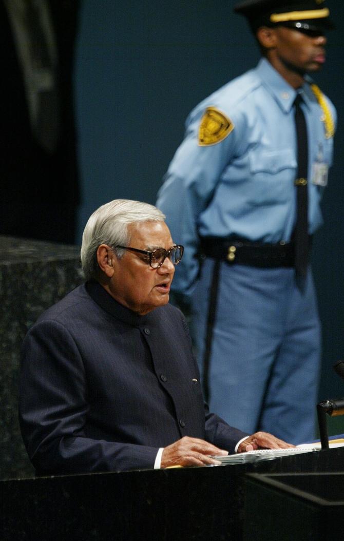 Former PM Atal Bihar Vajpayee