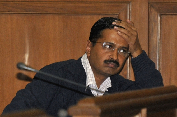 Arvind Kejriwal, supreme commander of the Aam Aadmi Party.