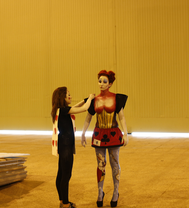 IN PHOTOS: Spain's OUTRAGEOUS body painting pageant
