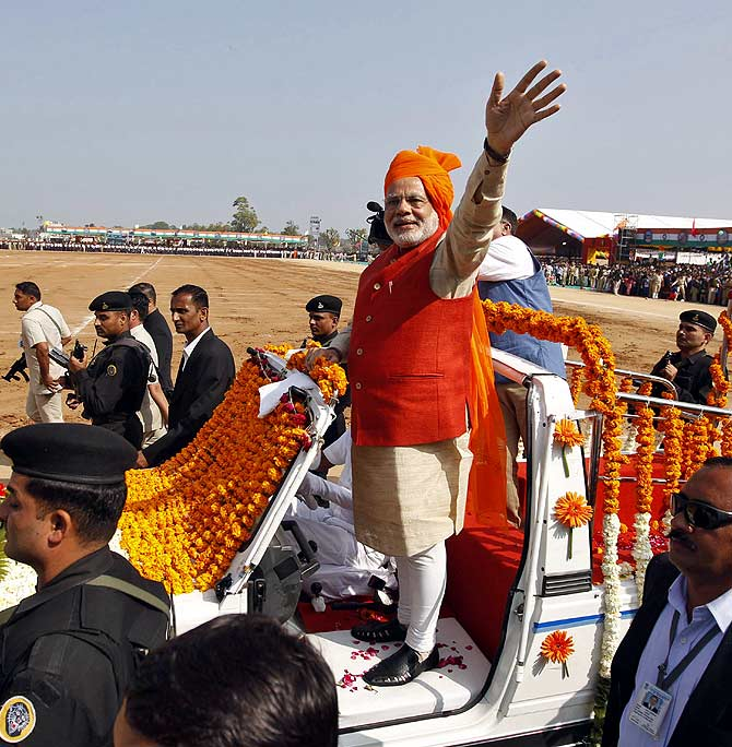 Many expect Narendra Modi to be India's next prime minister.