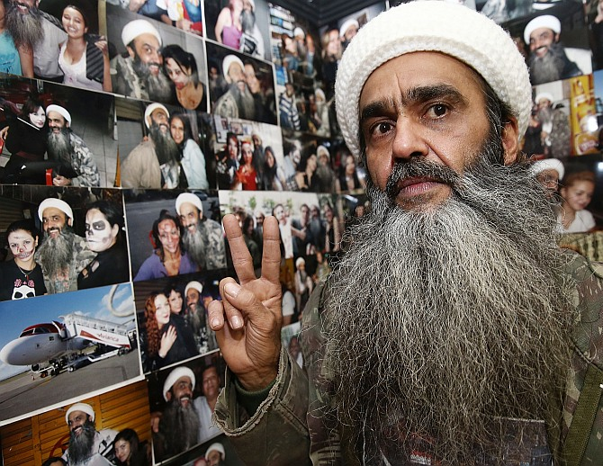 Inside the 'Osama bin Laden' bar