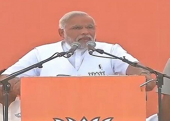 Top 10 quotes from Modi's Amethi speech