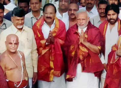 Who are Modi's 26 allies in the NDA?