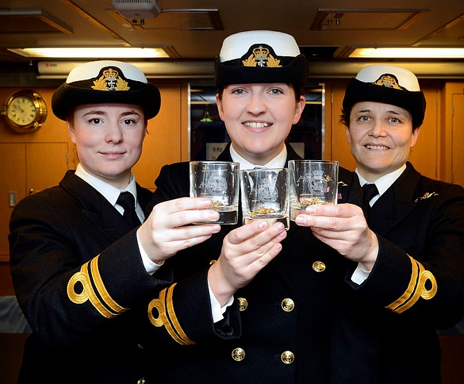 Meet Britain's first lady submariners