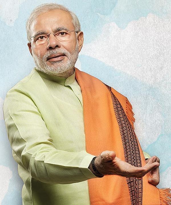 Bharatiya Janata Party's prime ministerial candidate Narendra Modi.