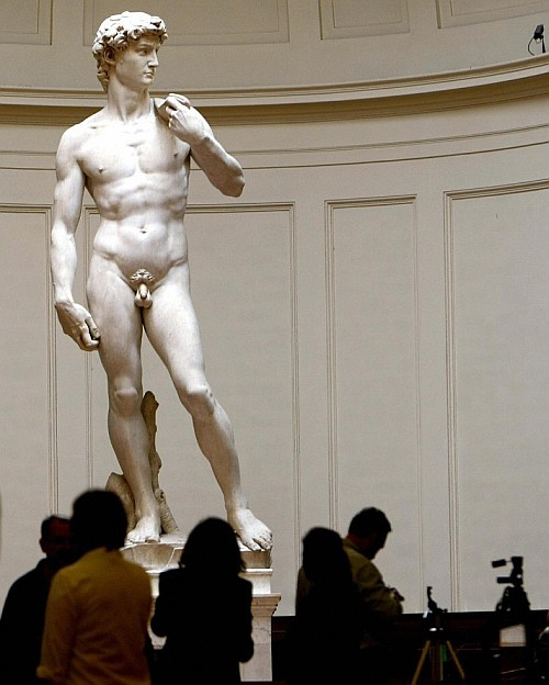 Weak ankles could topple Michelangelo's 'David'
