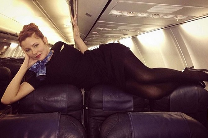 'Sexy' flight attendant selfies latest trend on Instagram