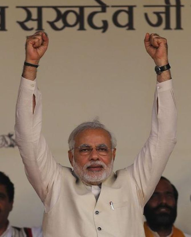 Modi: The remarkable journey of India's next prime minister