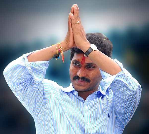 YSRC chief Jaganmohan Reddy