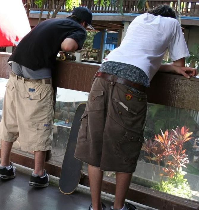Those caught with their pants low will be fined for public indecency in Tennessee.