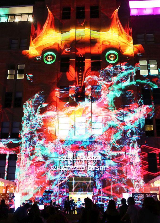 PHOTOS: Sydney's spectacular festival of lights