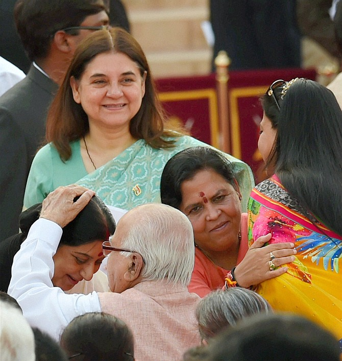 10 moments from Modi's swearing-in
