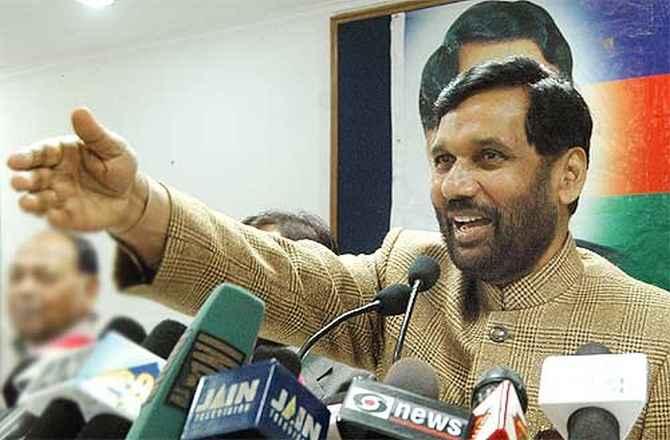 Ram Vilas Paswan, LJP, Cabinet minister