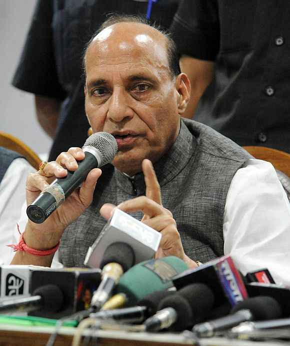 Rajnath Singh, Cabinet minister