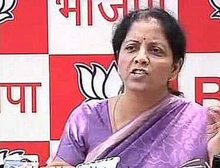 Nirmala Sitharaman, MoS independent charge
