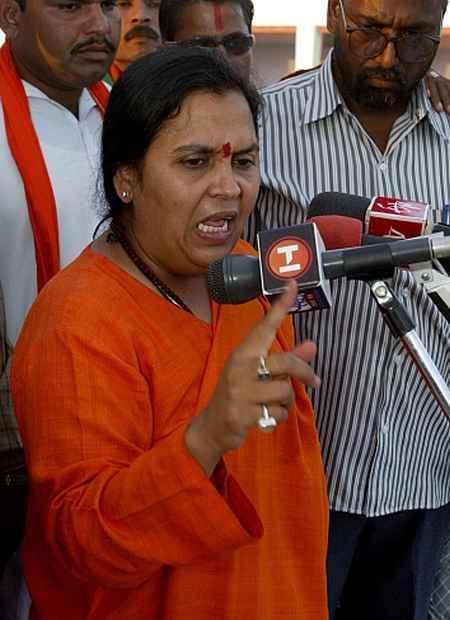 Uma Bharti, Cabinet minister