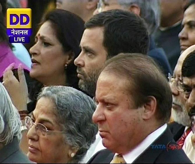 Rahul, Gursharan Kaur and Sharif