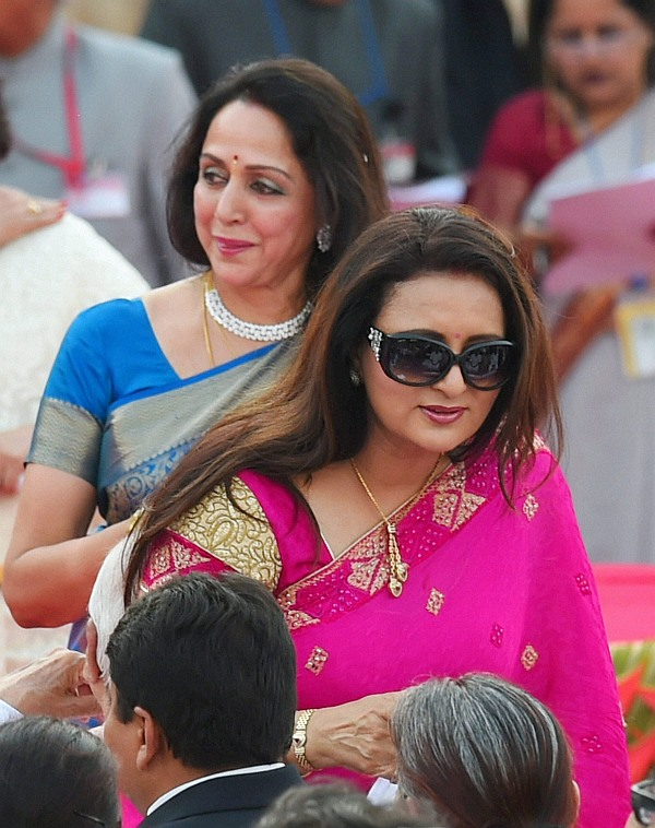 Hema Malini and Poonam Dhillon
