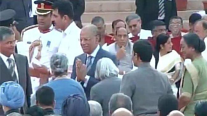 Mauritius Prime Minister Navin Ramgoolam
