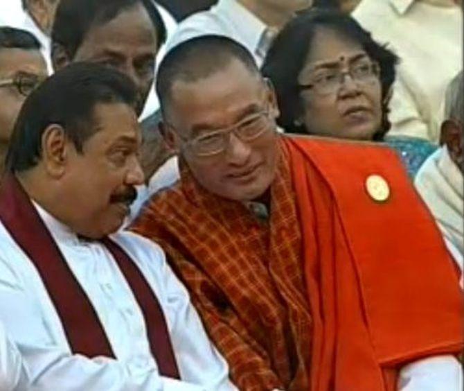 Prime Minister of Bhutan Lyonchen Tshering Tobgay