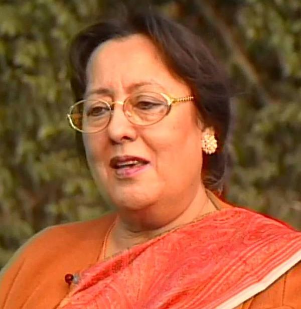 Dr Najma Heptulla