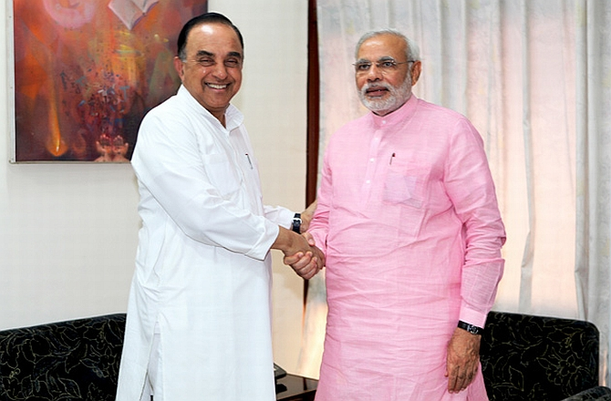 Subramanian Swamy's ommission from Modi's council of ministers came as a surprise