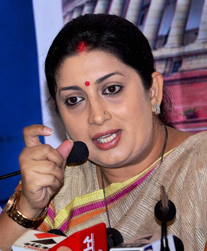 Smrit Irani was given a cabinet berth despite losing the Lok Sabha elections. She was contesting from Amethi and lost to Congress Vice President Rahul Gandhi