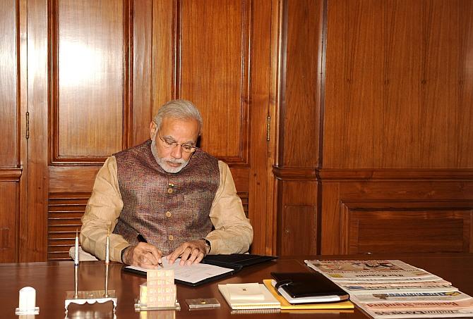 PM Modi's 10-point agenda