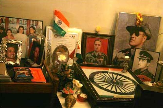 Col Vasanth Venugopal was posthumously awarded the Ashok Chakra, India's highest gallantry award for exemplary bravery