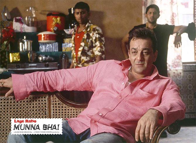 Sanjay Dutt In Lage Raho Munnabhai