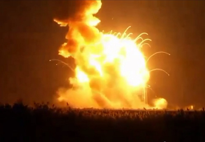 India News - Latest World & Political News - Current News Headlines in India - Fireball! NASA rocket explodes seconds after launch