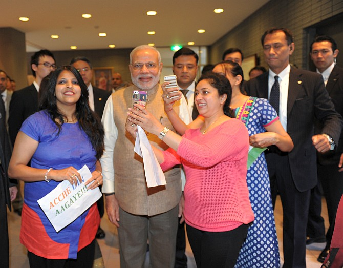 India News - Latest World & Political News - Current News Headlines in India - 'Professor' Modi engages university students in Tokyo