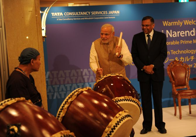 India News - Latest World & Political News - Current News Headlines in India - In Japan, PM Modi is drumming up quite a buzz